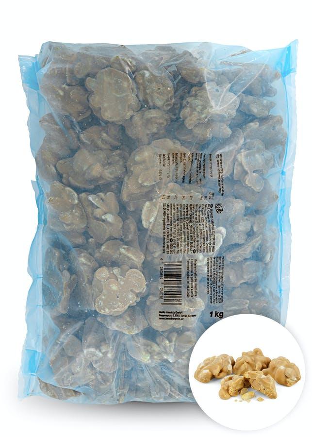Erdnüsse in Karamel